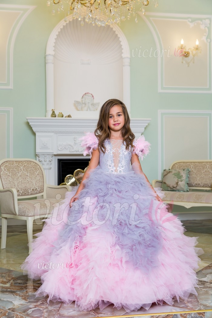 Детское платье D1209