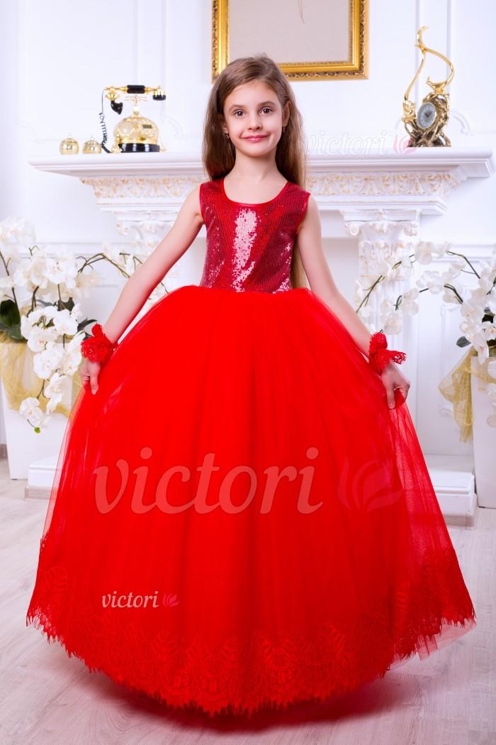 Детское платье D1018