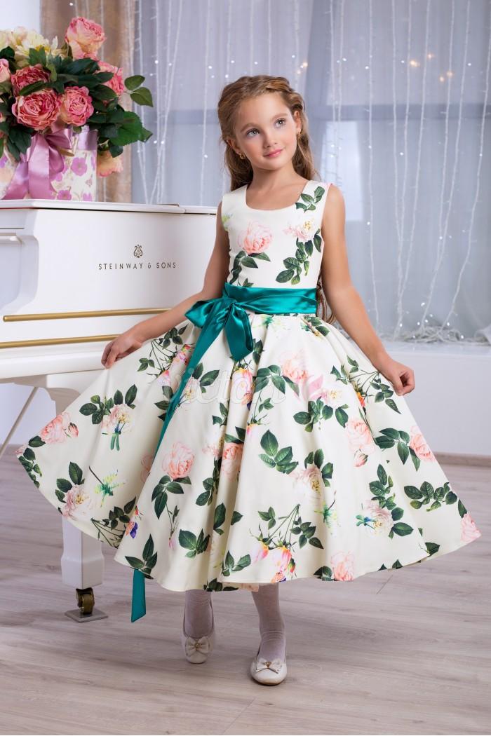 Детское платье D953