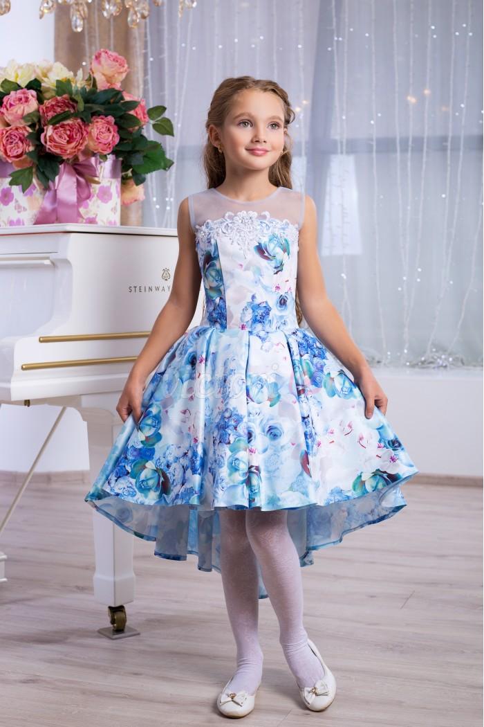 971ec6afd866ec8 Голубое детское платье на выпускной бал, купить Украина