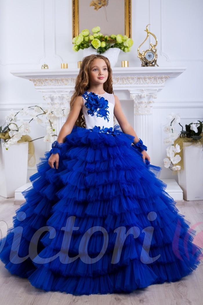 c91768d050b Синее платье для девочки купить онлайн Украина