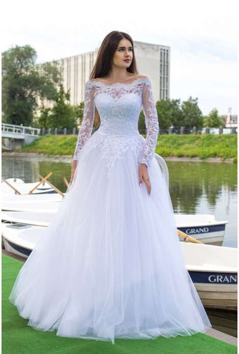 164ae7f89d7 Свадебное платье с рукавами купить в интернет магазине свадебных ...