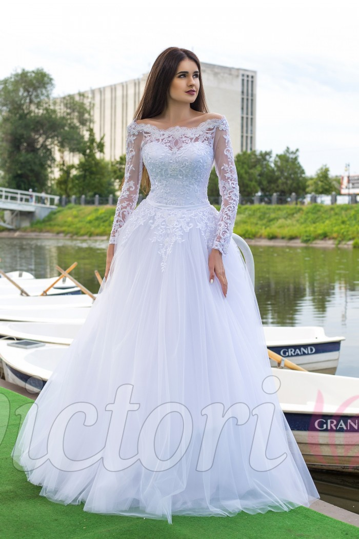 1ad87afcfa4 Самое красивое свадебное платье 2018 на сайте от производителя ...