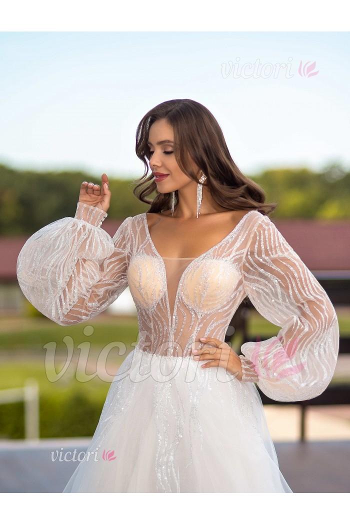 Платье свадебное S1355