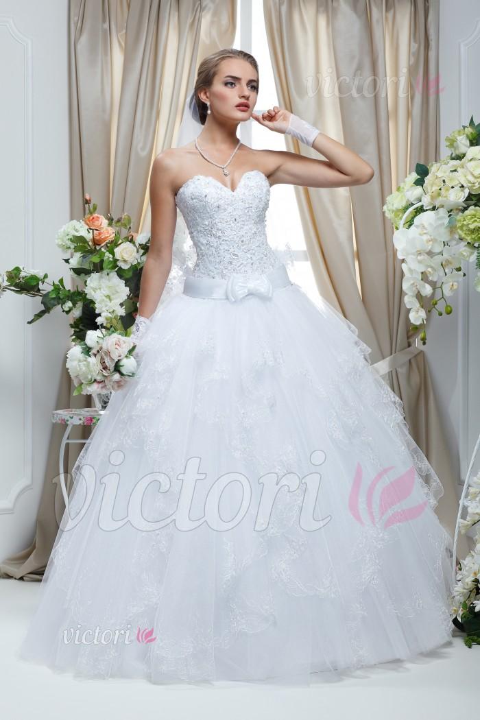 Cвадебное платье S636