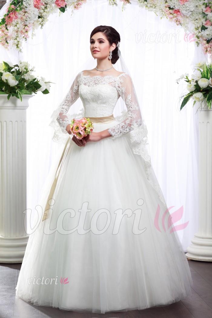 Платье свадебное S809