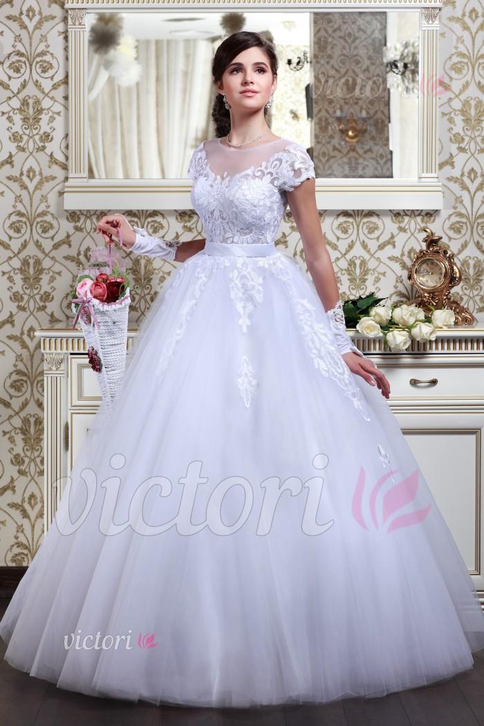 Платье свадебное S827