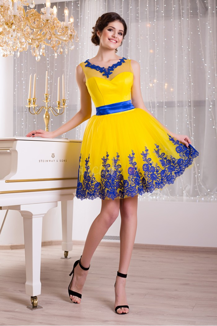 Вечернее платье V802