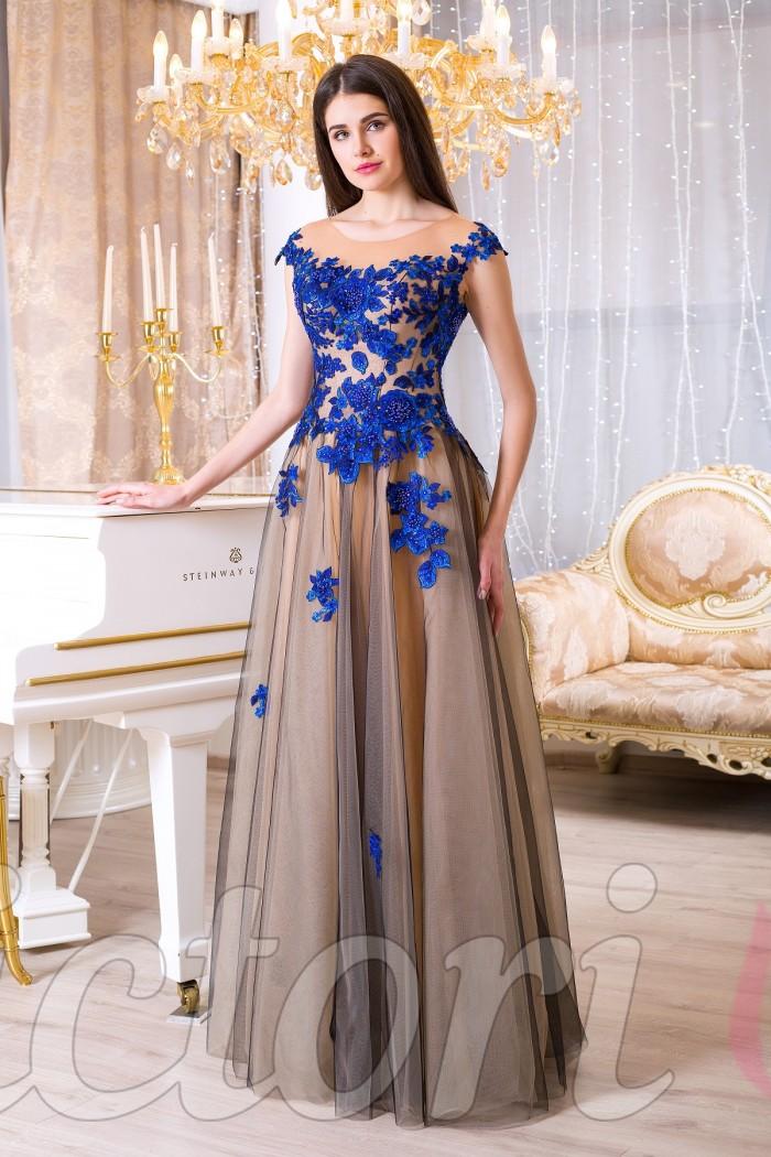 1988bb41a69 Нежное платье на выпускной вечер