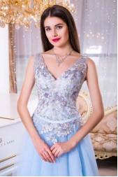 Вечернее платье V942