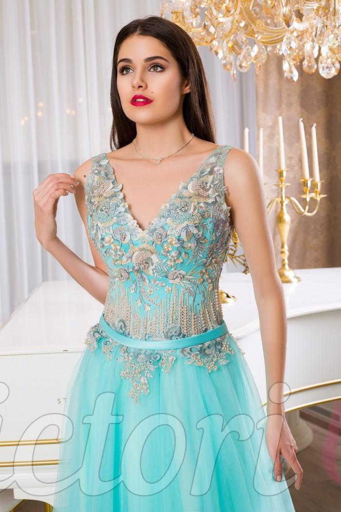 Вечернее платье V943
