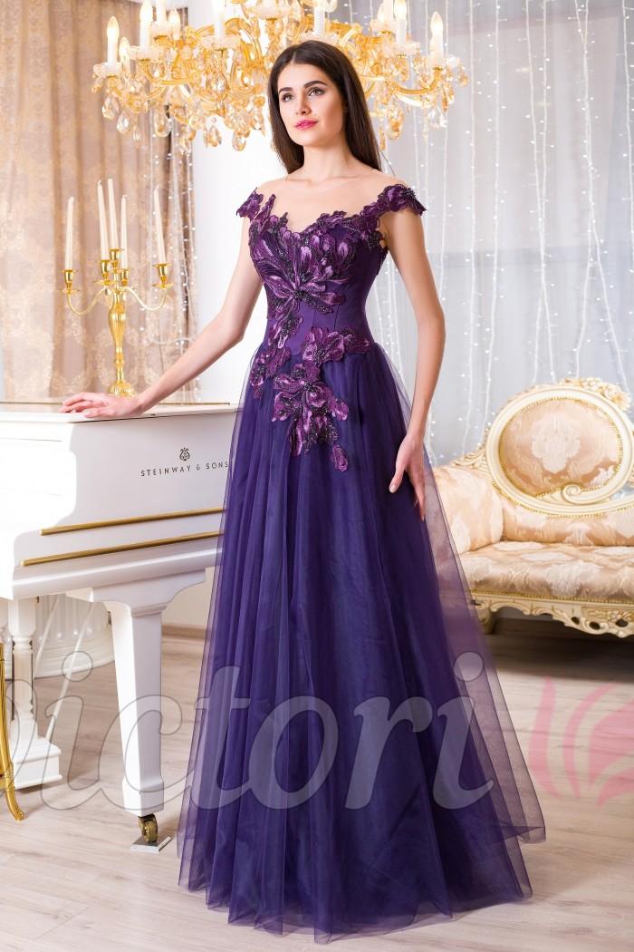 Вечернее платье V950