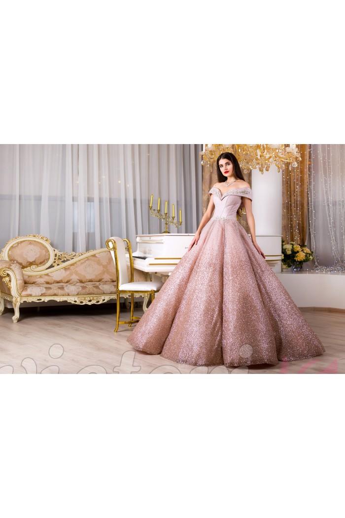 Вечернее платье V953